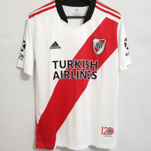2021/22 River Plate Home 120Th Fans Soccer Jerseys