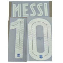 2021/22 MESSI #10 BA Home UCL Verseion Fonts 巴傻主场欧冠字体