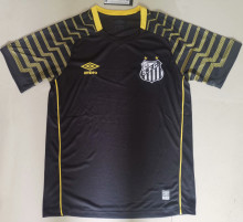 2021/22 Santos GK Black Soccer Jersey