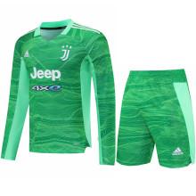 2021/22 JUV Green GK Long Sleeve Soccer Jersey(A Set)