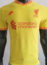 2021/22 LFC Away Yellow Player Soccer Jersey
