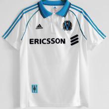 1998/1999 Marseille Home White Retro Soccer Jersey