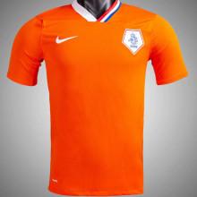 2008 Netherlands Home Orange Retro Jersey