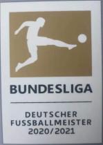 2020/21 Germany-Bundesliga Gold Patch 2020/21 德甲金章