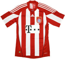2010/2011 BFC Home Red Retro Soccer Jersey