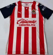 2021/22 Chivas Home Red White Women Soccer Jersey