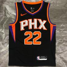 2021 Suns AYTON #22 Black NBA Jerseys Hot Pressed