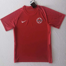 2021/22 Canada Home Red Fans Soccer Jersey