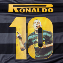 RONALDO #10 In Milan Home Retro Fonts 国米字体
