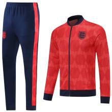 1990 England Red Retro Jacket Tracksuit