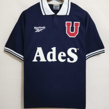 1998 Universidad de Chile Home Blue Retro Soccer Jersey