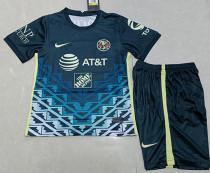 2021/22 Club America  Away Kids Soccer Jersey