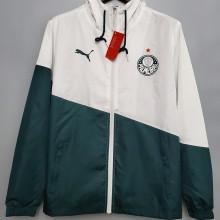 2020/21 Palmeiras Green And White Windbreaker
