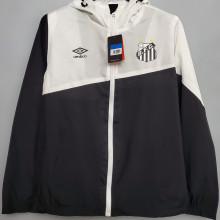 2020/21 Santos Black And White Windbreaker