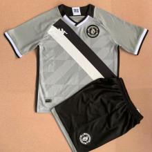 2021/22 Vasco Grey Goalkeeper Kids Soccer Jersey
