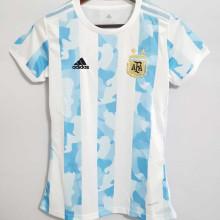 2021 Argentina Home Women Soccer Jersey