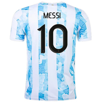 MESSI #10 Argentina 1:1 Quality Home Fans Soccer Jersey