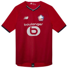 2021/22 Lille 1:1 Quality Home Red Fans Soccer Jersey