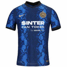 2021/22 In Milan 1:1 Quality Home Fans Soccer Jersey(Have AD有胸前广告)