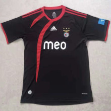 2009/2010 Ben-fica Away Black Retro Soccer Jersey