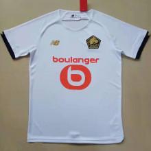 2021/22 Lille Away White Fans Soccer Jersey