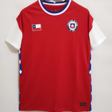 2021 Chile Nationa Edition Home Red Fans Soccer Jersey国际版