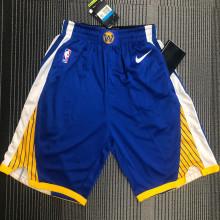 2021 Warriors Blue NBA Pants
