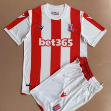 2021/22 Stoke City Home Kids Soccer Jersey