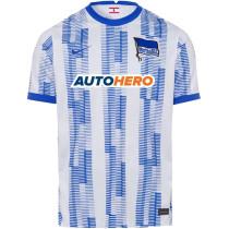 2021/22 Hertha-BSC Home Fans Soccer Jersey