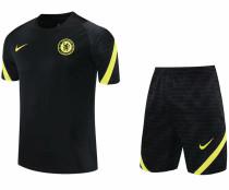 2021/22 CFC Blalck Short Training Jersey(A Set)