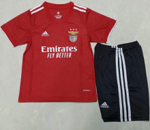 2021/22 Benfica Home Red Kids Soccer Jersey