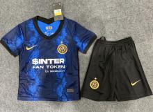 2021/22 In Milan Home Kids Soccer Jersey有胸前广告