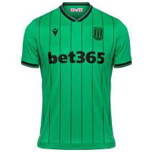 2021/22 Stoke City Away Green Fans Soccer Jersey