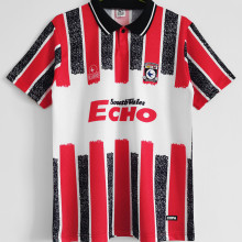 1990 Cardiff City Red Retro Soccer Jersey
