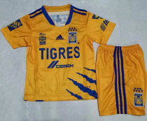 2021/22 U.A.N.L Tiger Home Yellow Kids Soccer Jersey