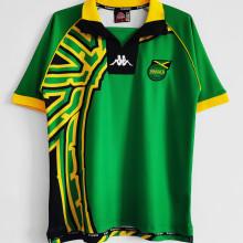 1998 JAMAICA  Away Green Retro Soccer Jersey