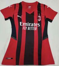 2021/22 AC Milan Home Women Soccer Jersey