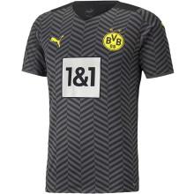 2021/22 BVB Away Black Fans Soccer Jersey