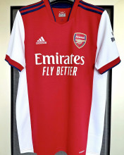 2021/22 ARS 1:1 Quality Home Red Fans Soccer Jersey