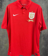 2013 England 150th Anniversary Red Retro Soccer Jersey