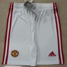 2021/22 M Utd Home White Shorts Pants