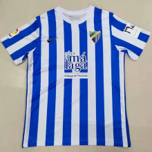 2021/22 Malaga Home Blue White Fans Soccer Jersey