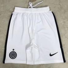 2021/22 In Milan Away White Shorts Pants