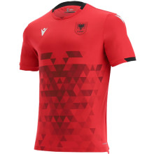 2021/22 Albania Away Red Fans Soccer Jersey