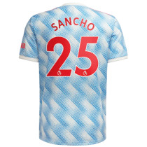 SANCHO #25 M Utd Away 1:1 Fans Jersey 2021/22(League Font)