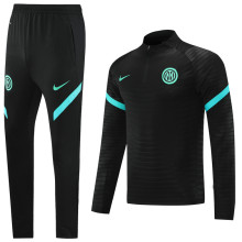 2021/22 In Milan Black Sweater Tracksuit