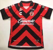 2021/22 Tijuana Home Red Black Fans Soccer Jersey