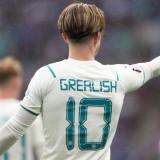 GREALISH #10 Man City 1:1 Away Fans Jersey 2021/22 (UCL Font 欧冠字体)