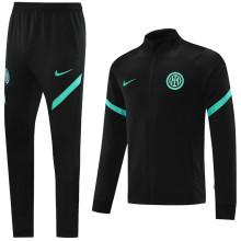 2021/22 In Milan Black Jacket Tracksuit