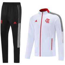 2021/22 Flamengo White Jacket Tracksuit
